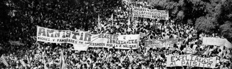 Mesa central en las XIV Jornadas: Los derechos en tres décadas de democracia