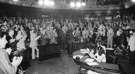 Mesa central en las XIV Jornadas: Los desafíos de la democracia en el Cono Sur