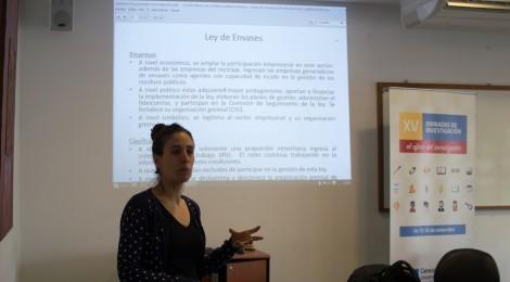 Propuestas presentadas a las XVI Jornadas de Investigación
